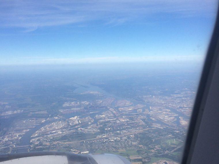 Volando da Milano Malpensa a Amburgo Eurowings