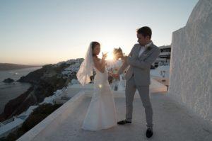 Foto shooting a Oia Santorini