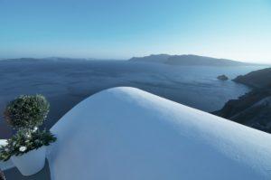 Vista sulla Caldera Santorini