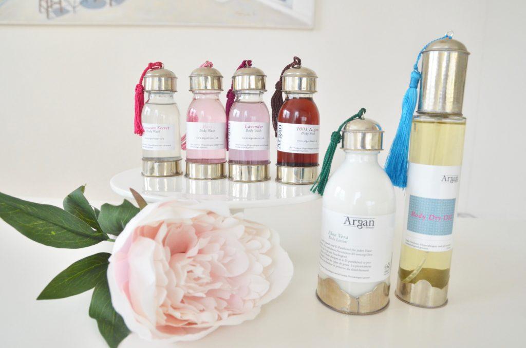 Prodotti 100% naturali con olio argan dal marocco