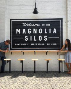 Magnolia silos logo waco