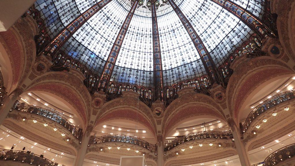 Incredibile interno di galeries lafayette