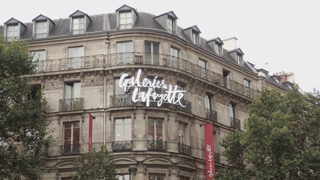 Galeries Lafayette a Parigi