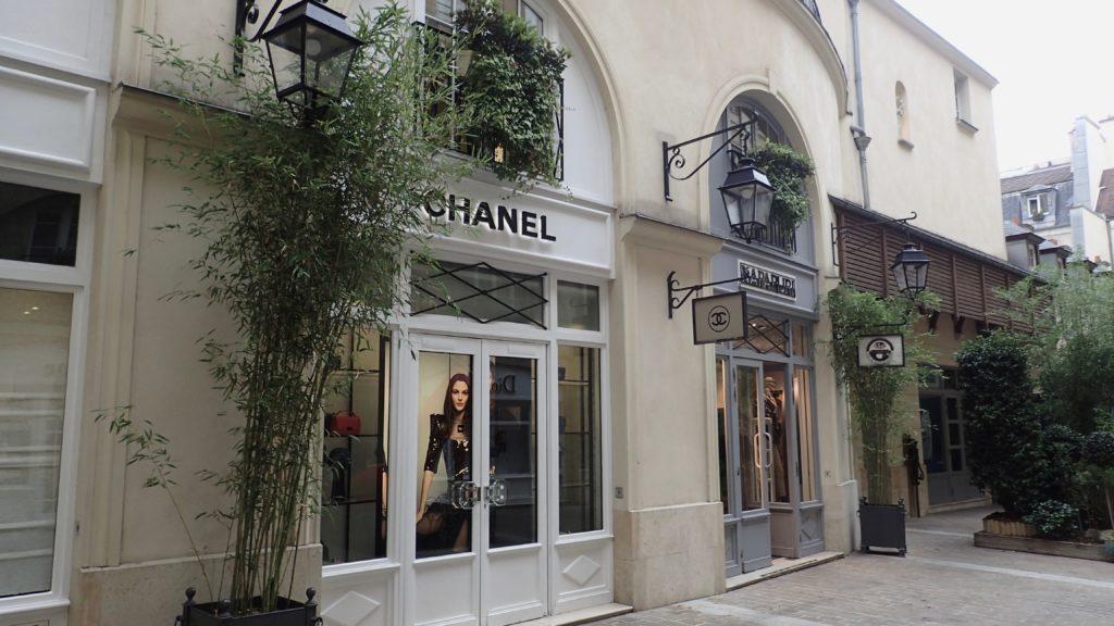 Negozio Chanel a Parigi