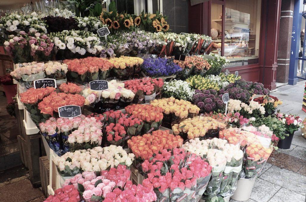 Negozio di fiori a Parigi