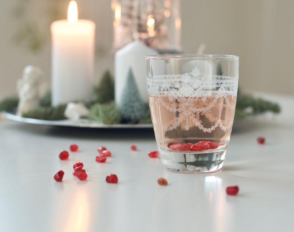 Ricetta per cocktail analcolico con melograno