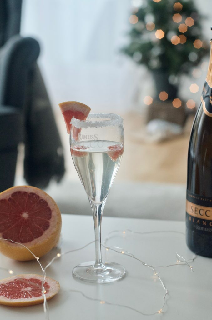 Ricetta per cocktail analcolico con grapefruit